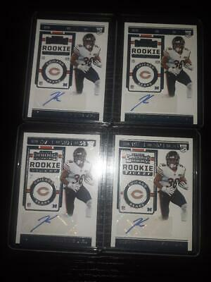 $ CDN12.99 • Buy 2019 Kerrith Whyte Jr (4) Contenders Rookie Ticket Auto Lot, 4 Rookie Autos #269
