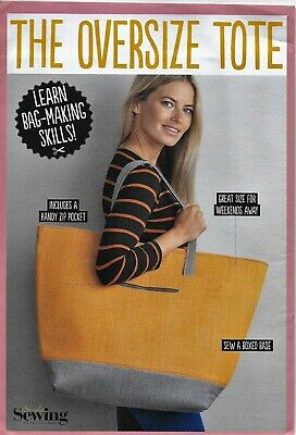 £2.80 • Buy The Oversize Tote Bag -  A Simply Sewing Pattern   --