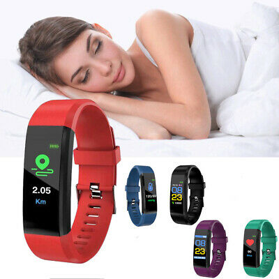 AU9.99 • Buy Smart Watch Band Sport Fitness Activity Tracker Kids Fit For Bit IOS Android