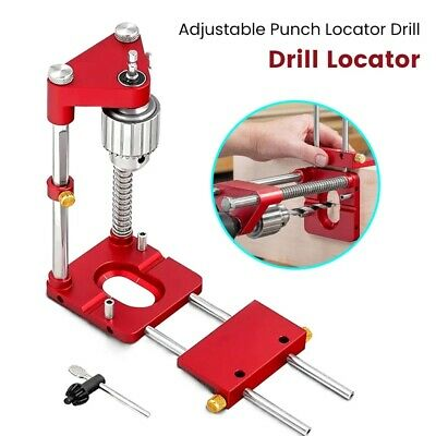 £23.98 • Buy 1x Woodworking Drill Locator Adjustable Punch Locator Drill Template Guide Tool