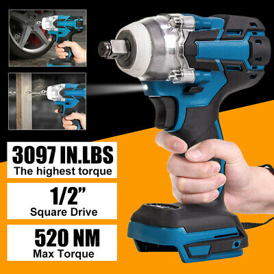 £15.99 • Buy 18V Cordless Impact Brushless Wrench Driver Torque Replace For Makita Battery UK