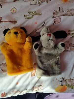 £10 • Buy Sooty And Sweep Hand Puppets