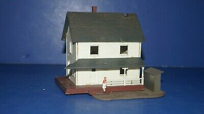 $ CDN1.23 • Buy Vintage HO Scale RR Model Train Building Accessory W Germany COUNTRY HOUSE HOME