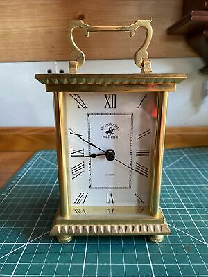 £5.99 • Buy Brass Carriage Clock With Quartz Movement