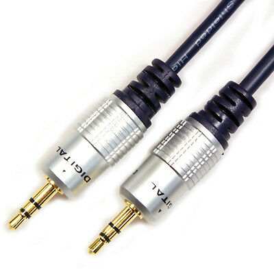 £11.99 • Buy 20M 3.5mm Jack Plug To Plug Male Cable Audio Lead For Headphone Aux MP3 IPod