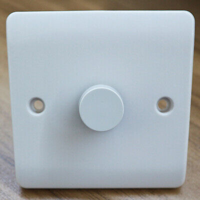 £11.82 • Buy Push On/Off Dimmer Switch 2way Rotary Trailing Edge Single Lighting Switch