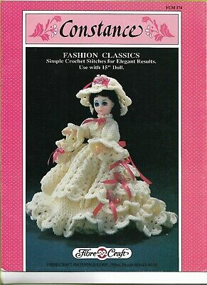 £1.45 • Buy Craftime-constance--fashion Classics Crochet Costume Pattern -use With 15   Doll