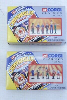 £9.51 • Buy CORGI Chipperfields Circus Diecast Model Circus Figures Sets 1 And 2 BOXED - G20