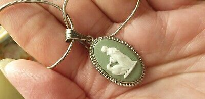 £9.99 • Buy Wedgwood Solid Silver 925 Pendant Necklace In Used Condition.