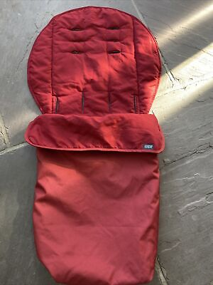 £6 • Buy Mamas And Papas Buggy Snuggle Lovely Red Shade , Soft Inner , Water Resistant