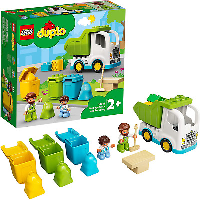 AU27.82 • Buy LEGO 10945 DUPLO Town Garbage Truck And Recycling Educational Toy For 2 + Year O