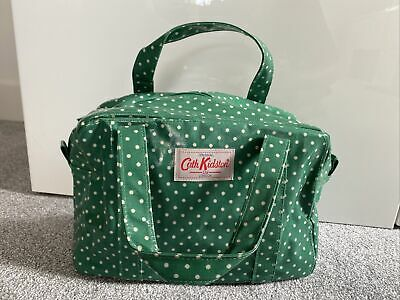 £11.50 • Buy Cath Kidston Green Spotty Oilcloth Tote Bag