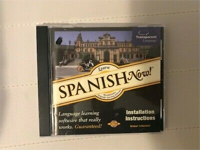 £1.95 • Buy Transparent Language: Learn Spanish Now!  PC CD-ROM