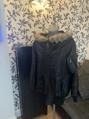 £25 • Buy Ladies Or Girls Fashionable Winter Coat. Size 10-12.Grab A Bargain RRP £55