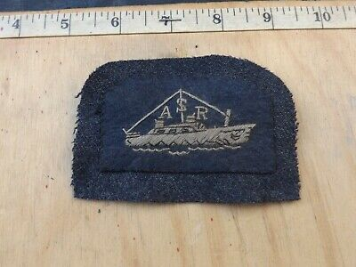 £7.99 • Buy WW2?, Type, R.A.F., Air Sea Rescue, Sleeve Patch, Sewn To R.A.F. BD Material
