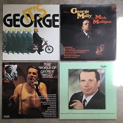 £7 • Buy George Melly X4 Vinyl Records. Meet George - Nuts - Its George - The World Of.