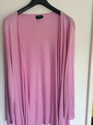 £1.99 • Buy Ladies Pink Waterfall Cardigan From Be You Size 24
