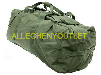 $44.90 • Buy US Military IMPROVED DUFFLE BAG Travel Flight Sea DUFFEL With US FLAG MINT