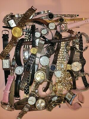 $ CDN22.47 • Buy Lot 35 Vintage To Modern Watches For Parts Or Repair - Seiko, Swiss Army & More