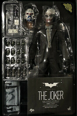 $336 • Buy Hot Toys Joker Bank Robber 2.0 Mms 249 Action Figure The Dark Knight 1/6 Scale