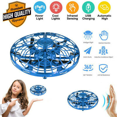 AU28.47 • Buy Hand Operated Mini Drone For Kids, Flying Ball Toy  Helicopter Infrared