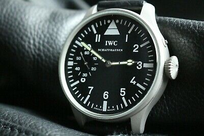 $591.71 • Buy Vintage 1912`s IWC Pocket Swiss Movement In New Wrist Military Case PILOT A-DIAL