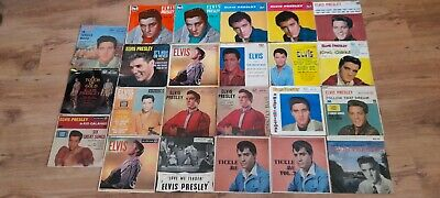£95 • Buy Elvis Presley – 23 X 7  EPs UK & Imports Super Collection Some Very Rare