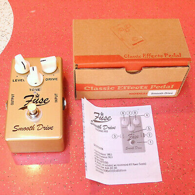 $ CDN56.43 • Buy Fuse Electronics Smooth Drive Overdrive Guitar Pedal!