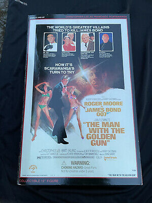 £75 • Buy Sideshow James Bond 12  Roger Moore Figure Doll Collectable