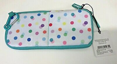 £4.49 • Buy Paperchase Multicoloured Polka Dot Stand Up Case Pencil Case - BACK TO SCHOOL