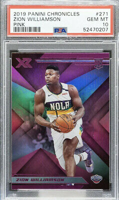 $429.99 • Buy Zion Williamson 2019 Panini Chronicles XR Pink RC Rookie PSA 10