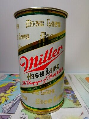 $20 • Buy Miller High Life  Champagne Of Bottle Beer  Flat Top Cup Empty Beer Can #100-1