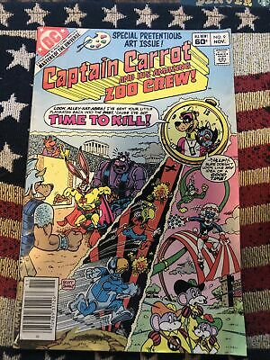 $3.99 • Buy Masters Of The Universe Dc Preview Captain Carrot &  Amazing Zoo Crew # 9 1982