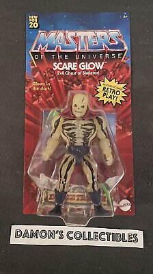 $39.99 • Buy Masters Of The Universe Origins Scare Glow Figure In Hand  Rare Unpunched