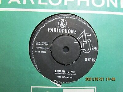 £2.85 • Buy The Beatles=from Me To You  Ex