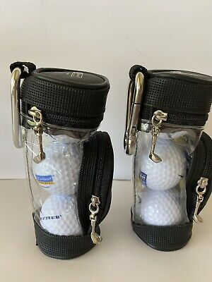 """$20 • Buy 6 New Royal Caribbean  Majesty Of The Seas"""" Cruise Golf Balls By Nike With Bags"""