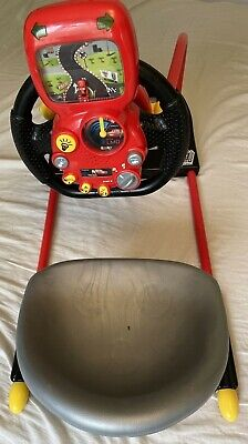 £44.95 • Buy Smoby Pilot Driving Simulator Disney Cars Theme Lightening McQueen - Tested