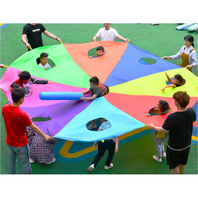 £33.26 • Buy Parachute 13 Foot For Kids With 13 Handles, Play Parachute Outdoor Games