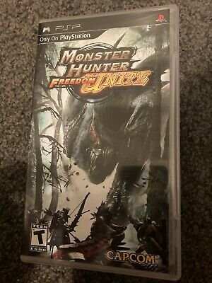 AU19 • Buy Monster Hunter Freedom: Unite PSP (Pre-owned, Includes Box)