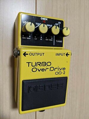 $ CDN52.66 • Buy BOSS OD-2 Turbo Overdrive Guitar Effects Pedals USED JAPAN ACA