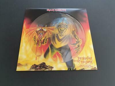 £21 • Buy Iron Maiden The Number Of The Beast 2005 Uk 12  Vinyl Record Picture Disc Mint