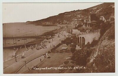£2.20 • Buy View From East Cliff, Ventnor:~1910 Crisp Real Photo PPC, Unknown Publisher