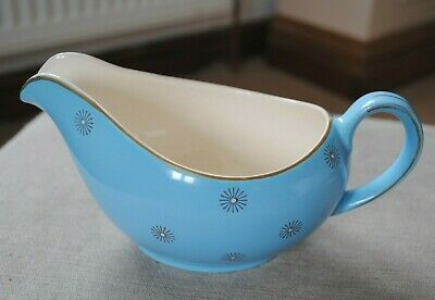 £8.99 • Buy Alfred Meakin Rare Blue Morning Star Jug Sauce Boat Hand Painted 1950s Vintage