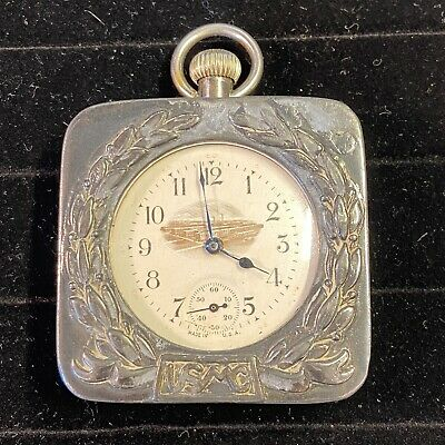 $49.99 • Buy RARE World War 1 Military Pocket Watch With Custom Travel Case ~250g For Repair