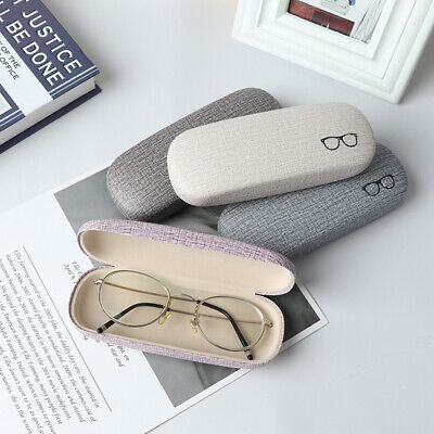 AU10.47 • Buy Reading Case Leather Eye Glasses Hard Shell Protector Chic Sunglasses C DqSD*jg