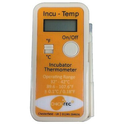 £26.95 • Buy INCUBATOR THERMOMETER   Chicktec Incu-Temp Standard   Chick Chicken Poultry