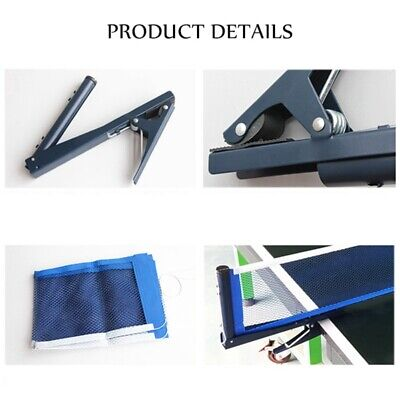 AU20.75 • Buy Ping-Pong Replacement Mesh,Standard Table Tennis Net With Post Clamp Stand Set