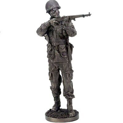 $79.98 • Buy Taking Aim World War Two Soldier Statue Figurine Military WWII New