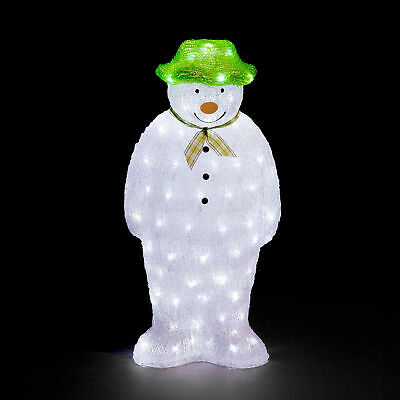 £44.99 • Buy The Snowman Battery Operated Acrylic Light Up LED Christmas Decoration