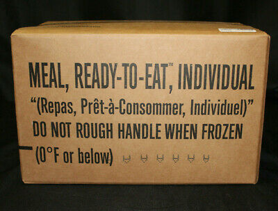 $69.95 • Buy 12 Pack Surplus Military Meals Ready-to-Eat MRE CASE A Inspect Date 08/2022 NEW!